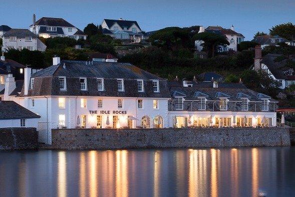 Idle Rocks Hotel St Mawes Cornwall